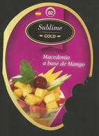 # MANGO SUBLIME GOLD MACEDONIA  Tag Balise Etiqueta Anhänger Cartellino Fruits Frutas Frutta Früchte - Fruit En Groenten