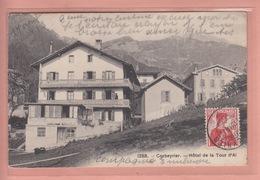 OUDE POSTKAART ZWITSERLAND - SUISSE -    CORBEYRIER - HOTEL - VD Vaud
