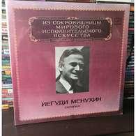 Yehudi Menuhin, Violin: Brahms Sonata No 3; Beethoven Sonata No 10; Bartok Sonata No 1; Mozart From Violin Sonata K 2LPs - Classical