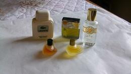 Miniature De Parfum Homme Et Femme  Lot De 5 Sans Boites N° 9 - Modern Miniatures (from 1961)