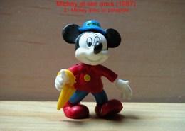 "Kinder 1987 : Mickey Avec Un Parapluie ""Mickey & Ses Amis"" - Dessins Animés"