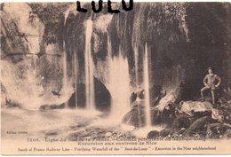 DEPT 06 : édit. Gillette N° 1306 : Cascade Pétrifiante Du Saut Du Loup ( Animé ) - Non Classés