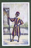 Cartolina Costumi - Ciità Del Vaticano - Guardia Svizzera - Tenuta Di Mezza Gala - Cartoline