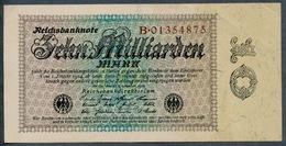P116 Ro113a DEU-134a. 10 Milliard Mark 15.09.1923 XF+ - 10 Milliarden Mark