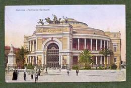 Cartolina Palermo - Politeama Garibaldi - 1910 Ca. - Palermo