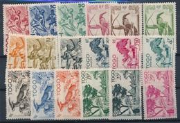 CH-162:TOGO: Lot  Avec N°236/253** - Togo (1914-1960)