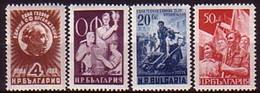 - Bulgaria / Bulgarie  1949 -  Set (Mi No 712-5) MNH** - 1945-59 Volksrepublik
