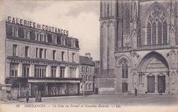 Coutances Un Coin Du Portail Et Nouvelles Galeries éditeur LL N°86 - Coutances