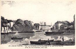 137 Ancien Nantes - Vue Vers La Pointe De L'ile Gloriette ... , Vers 1830 .. - Nantes