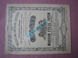Felix Potin Catalogue Special Juin 1908 - Food
