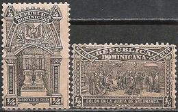 Dominican Republic 1900 Scott 109 110 MNH Columbus - Dominicaine (République)