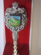 ARTOUSTE Cuillére à Café De Collection Avec Sa Boite - Obj. 'Souvenir De'
