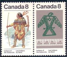 Canada Indian Ceremonial Costume Oiseau Thunderbird MNH ** Neuf SC (C05-77ad) - Textile