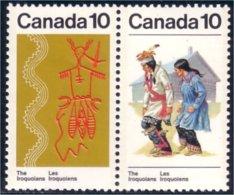 Canada Indian Costume Danse Dance Oiseau Thunderbird MNH ** Neuf SC (C05-81ab) - Textile
