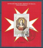 2007 ORDINE DI MALTA SMOM Foglietto Serie Completa Usata FDC Bellissima - Malte (Ordre De)