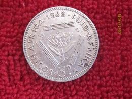 South Africa: 3 Pence 1959 - Afrique Du Sud