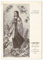 I Martiri Della Purezza S. Maria Goretti #Cartolina #Santino #Collezionismo - Saints