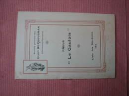 "Bergougnan Pneus "" LE  GAULOIS "" 1912 + Doc.1914 - Cars"