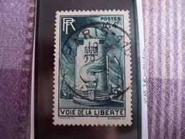 """1945-1949-timbre Oblitéré N° 788   """"   Voie De La Liberte   """"     Cote    1.25    Net     0.40 - France"""