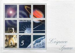Canada - Journée De L' Espace - Montréal 29 Mars 1992  (110444) - Timbres (représentations)