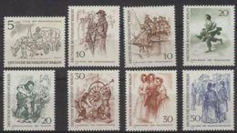 Berlín 1969. Berlineses M=330-37 Y=305-09, 324-26  (**) - [5] Berlin
