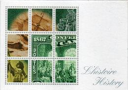 Canada - Grands Moments De L' Histoire - Montréal 25 Mars 1992  (110446) - Timbres (représentations)