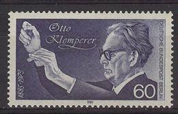 Berlín 1985. Otto Kelmperer M=739 Y=700  (**) - [5] Berlin