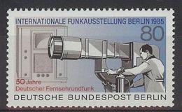 Berlín 1985. Exposicion TV M=741 Y=703  (**) - [5] Berlin