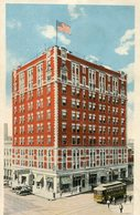 GAY-TEAGUE HOTEL MONTGOMERY ALABAMA EEUU USA POSTAL CARD COLOR - LILHU - Montgomery