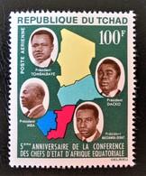 CONFERENCES DES CHEFS D'ETATS AFRICAINS 1964 - NEUF * - YT PA 16 - MI 118 - Tchad (1960-...)