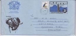 Kenya Cover To Pakistan,  Stamps, Birds      (A-645) - Kenya (1963-...)
