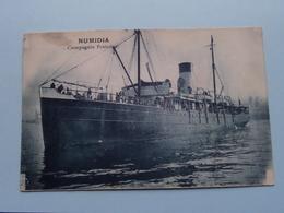 """"""" NUMIDIA """" Compagnie Fraissinet () Anno 1929 ( Voir Photo Details ) ! - Commerce"""