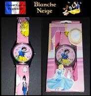 Montre à Quartz Bracelet Cuir NEUVE Sous Boîte ! ( Watch ) - Blanche Neige Snow White - Montres Modernes