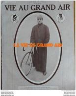 1913 CYCLISME FRANCK KRAMER CHAMPION DU MONDE - AVIATION ISSY LES MOULINEAUX - AVIATION AU MAROC - RUGBY STADE DEVON - Journaux - Quotidiens
