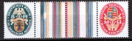 Germania Reich 1928 Unif.417+418 Tete Beche **/MNH VF - Germania