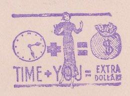 Meter Top Cut USA Clock - Fashion - Dollar - Horlogerie
