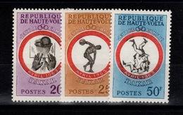 Haute-Volta - YV 110 à 112 N** Complete - Jeux De L'amitie à Dakar - Haute-Volta (1958-1984)