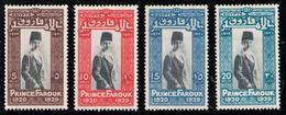 EGYPT 1929 - SET MH* - Egypt