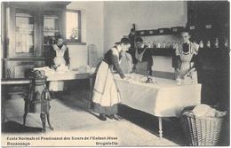 Brugelette NA15: Ecole Normale Et Pensionnat Des Soeurs De L'Enfant-Jésus. Repassage - Brugelette