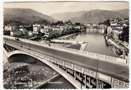 91 - BASSANO DEL GRAPPA - PANORAMA - VICENZA - 1955 - Vedi Retro - Vicenza