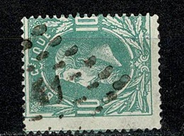 Belg.  30  Pt 41  Binche  COBA + 2 - 1869-1883 Leopold II