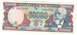 Ecuador 50000 Sucres 1999 UNC - Equateur