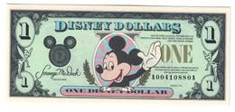 Disney 1 Dollar 1991 UNC - Stati Uniti