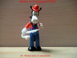 """Kinder 1990 : Horace Avec Saxophone Habits Bleu Et Rouge """"Mickey & Compagnie"""" - Dessins Animés"""
