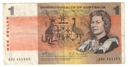 Commonwealth Of Australia 1 Dollar 1969 Phillips Randall - Emissions Gouvernementales Décimales 1966-...