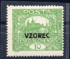 CZECHOSLOVAKIA  1918 , MNH , VZOREC - Tchécoslovaquie