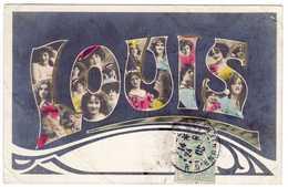 Prix Fixe - LOUIS - Prénom - Bonne Fête 1905 - 11-7/17 - Prénoms