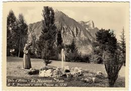 VELO D'ASTICO - LA MONTANINA - FONTE DI S. FRANCESCO E MONTE CIMONE - VICENZA - 1953 - Vedi Retro - Vicenza