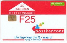 NETHERLANDS B-372 Chip Telecom - Used - Netherlands