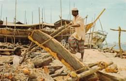 Dubai  / 01 - Dhow Builders - Trucial States - Scieur De Long - Dubai